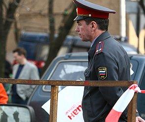 В Москве атаковали полицейскую стоянку