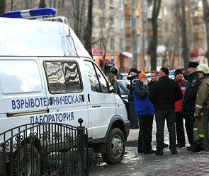 В Москве разминируют автомобиль с бочкой взрывчатки
