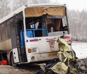Под Самарой разбился автобус с мигрантами