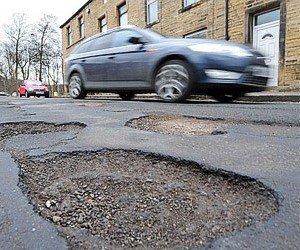Водители не будут платить штрафы из-за плохих дорог