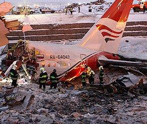Водители извлекали людей из горящего Ту-204