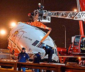 Названа причина катастрофы Ту-204 в Москве