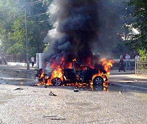 Три человека стали жертвами взрывов в Махачкале