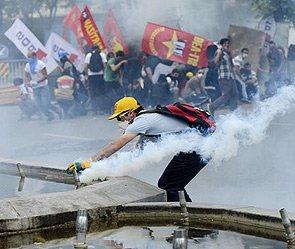 Беспорядки в Турции вызвали аресты