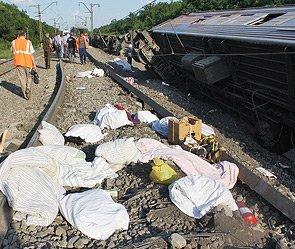 Озвучена причина крушения поезда на Кубани