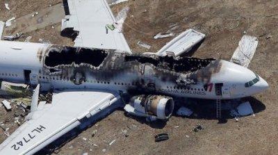 Рухнувший Boeing сажал ослепленный пилот