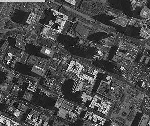 Российский спутник снял американские города