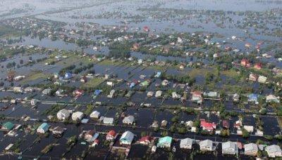 От наводнения пострадали 50 тысяч россиян