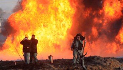 Под Краснодаром взорвался нефтепровод
