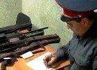 В Волжском из отдела полиции похитили восемь единиц оружия