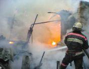 В Москве загорелся склад с бытовой химией