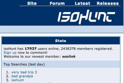 Восстановлен архив торрент-трекера IsoHunt