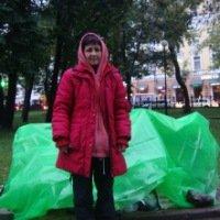 В самом центре административной Москвы поселилась активистка с Кузбасса