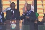 Переводчик речей на панихиде по Манделе страдал шизофренией