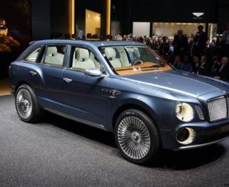 Bentley готовит к производству первую гибридную модель - кроссовер