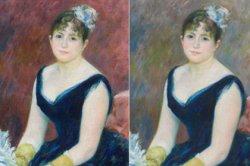 Ученые восстановили старые краски на картине Огюста Ренуара