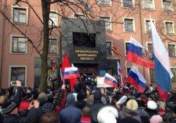 В Донецке активисты против самопровозглашенного губернатора области