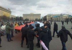 В Харькове активисты требуют федерализации Украины