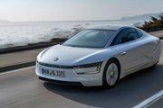 Новый дизельный гибрид Volkswagen XL1 - расход менее 1л/100км