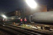 В Германии столкнулись пассажирский и товарный поезда