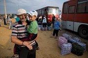 Количество беженцев из зоны АТО в Украине возросло