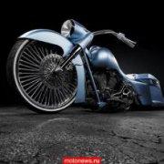 Blue Envy - самый титулованный мотоцикл продан через аукцион eBay