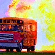 Автобус с реактивным двигателем?...