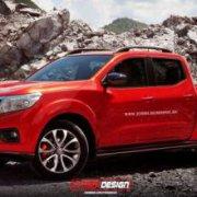 «Горячая» версия нового пикапа Nissan NP300 Navara
